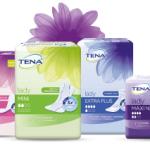 Produktproben von Tena