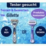 Kostenlos Gillette Produkte