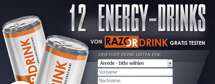 Energy Drink testen