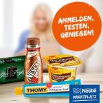 gratis Nestle Produkte testen
