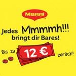 Geld zurück Aktion von Maggi