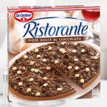 Pizza Schokolade testen