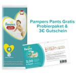Produktproben von Pampers