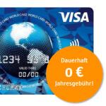 kostenlose Visa Karte bestellen