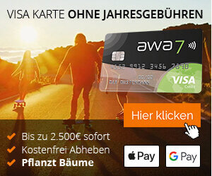 Visa Karte gratis