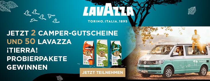 Probierpakete von Lavazza gewinnen